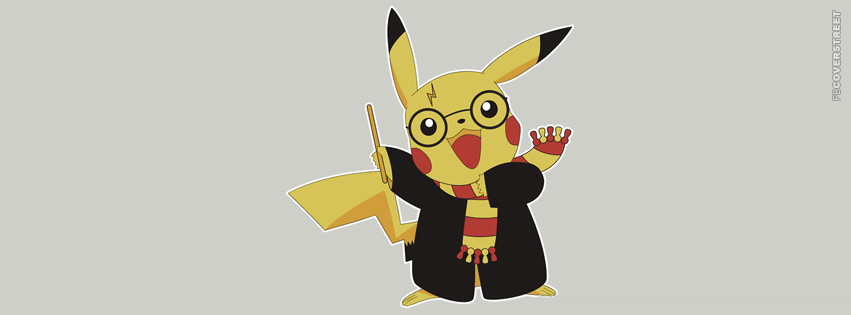 Pikachu Harry Potter  Facebook Cover