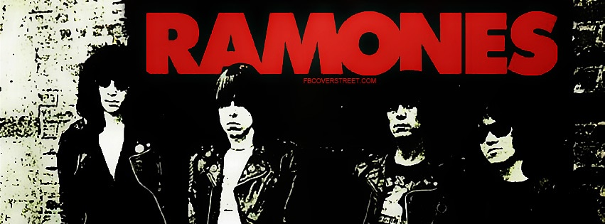 The Ramones 4 Facebook Cover