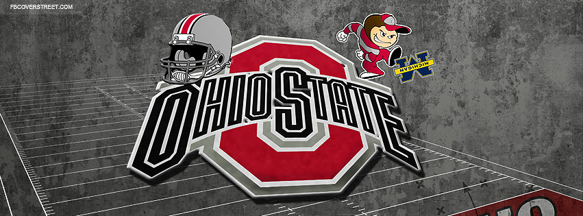 Ohio State University Buckeyes Logo Facebook Cover