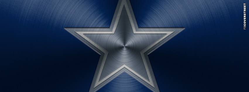 Dallas Cowboys Aluminum Logo Facebook cover