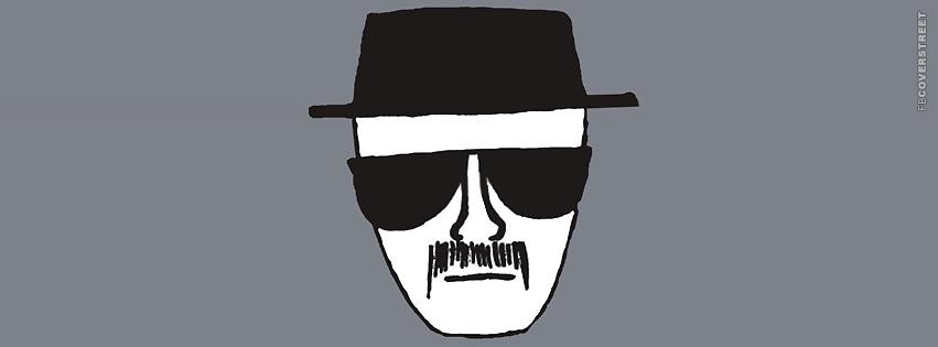 Heisenberg Police Sketch  Facebook cover