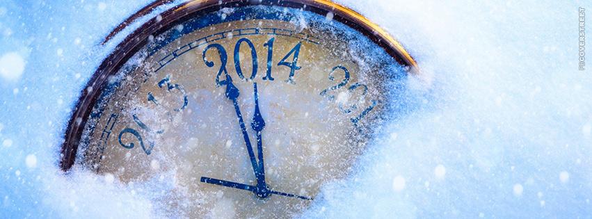 2014 Clock  Facebook cover