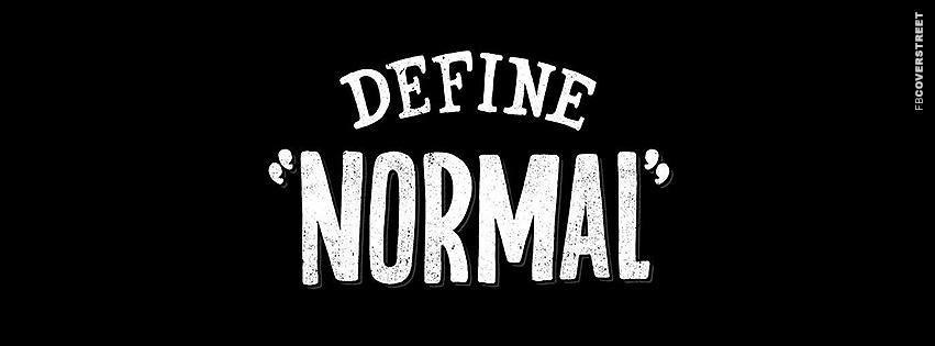 Define Normal  Facebook Cover
