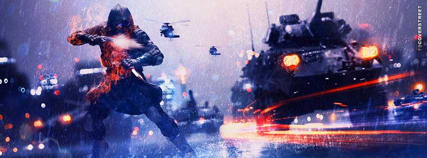 Battlefield 3 Assassins  Facebook Cover