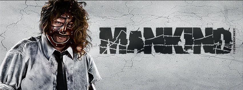 Mankind Mick Foley Professional Wrestler Facebook cover