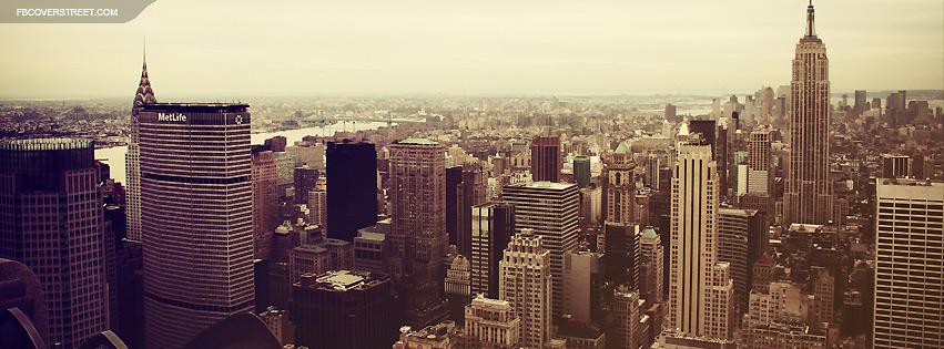 New York City Lomo Facebook Cover
