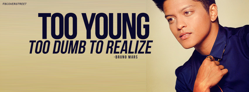 Bruno Mars Quotes Amazing When I Was Your Man Bruno Mars Quote Facebook Cover FBCoverStreet