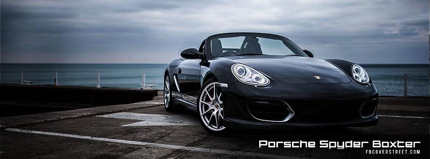 Porsche Spyder Boxter Facebook cover