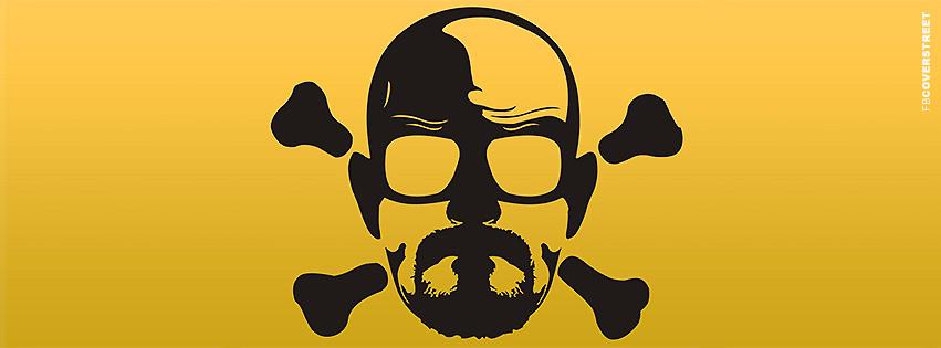 Heisenberg Skull Logo Breaking Bad Facebook Cover