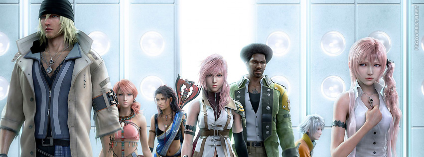 Final Fantasy 8 Characters  Facebook cover