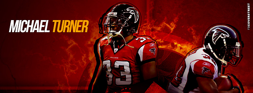 Atlanta Falcons Michael Turner  Facebook cover