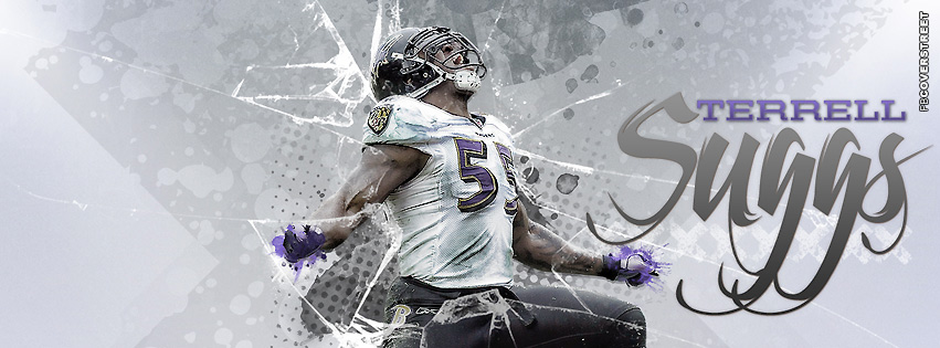 Baltimore Ravens Terrell Suggs Facebook cover
