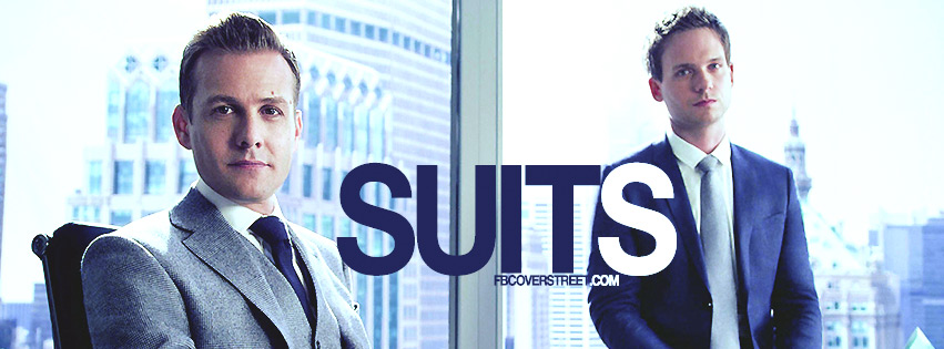 Suits Television Series Facebook Cover