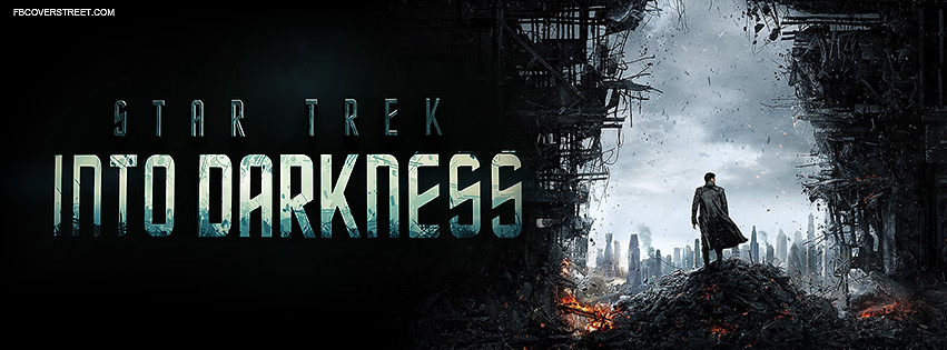Star Trek Into Darkness Official Movie Facebook cover