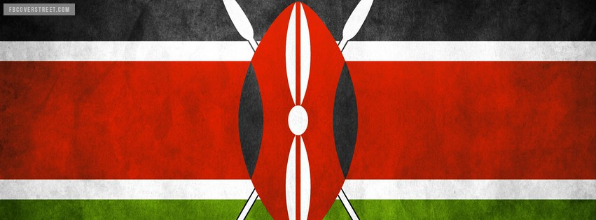 Kenya Flag Facebook Cover