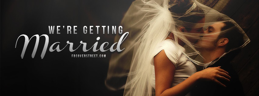 We're Getting Married 2 Facebook Cover