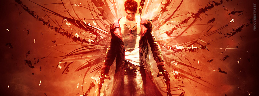 Devil May Cry 4 Raising Hell Facebook Cover