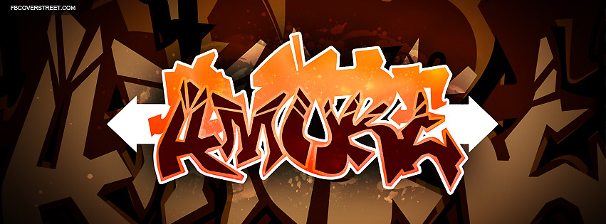 Amore Graffiti Word  Facebook cover