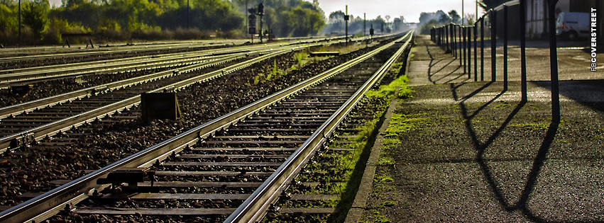 Railway Station  Facebook cover
