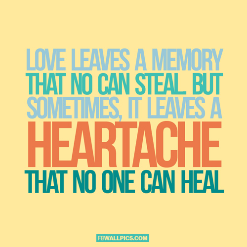 Love Leaves a Memory  Facebook Pic