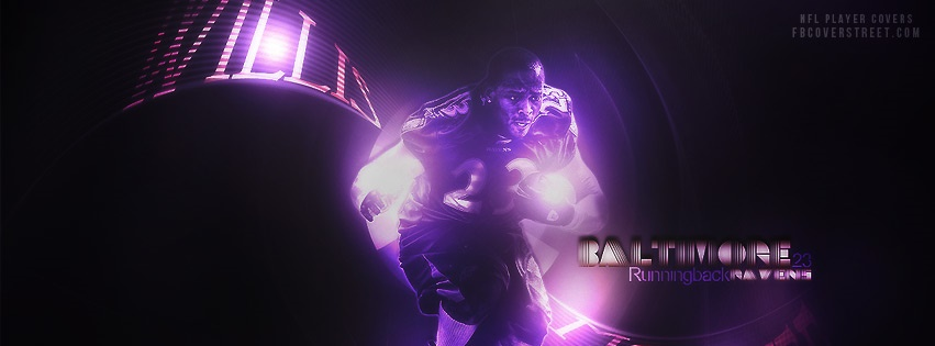 Willis Mcgahee Baltimore Ravens Facebook cover