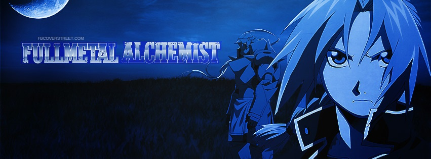 Fullmetal Alchemist 3 Facebook Cover