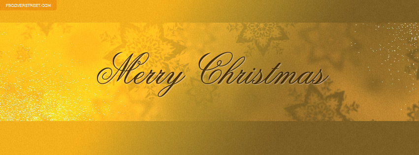 Nice Merry Christmas Cover 6 Facebook Cover