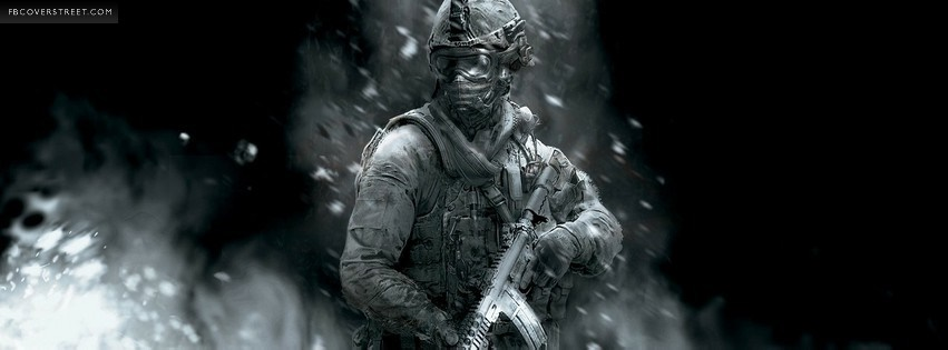 Call Of Duty Modern Warfare 2 3 Facebook Cover