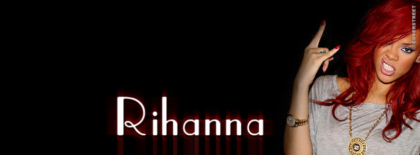Rihanna Cover Simple  Facebook cover