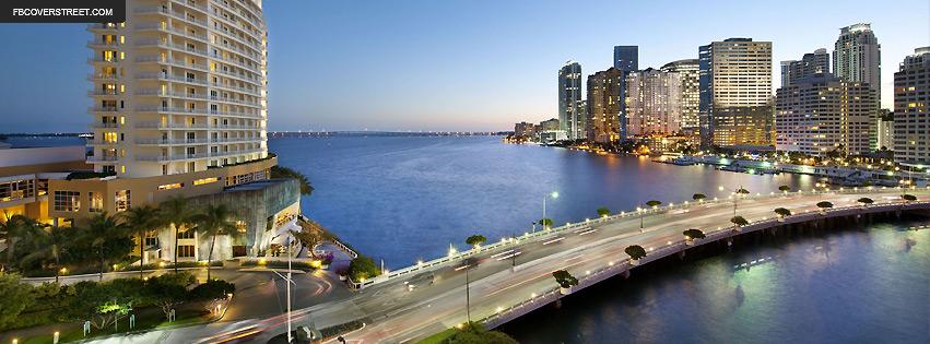Miami Florida Bay Facebook Cover
