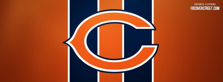 Chicago Bears Logo 2 Facebook Cover Fbcoverstreet