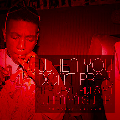 Lil Boosie The Devil Rides You Quote Facebook picture