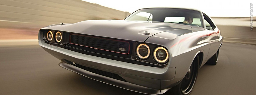 Dodge Challenger RT Racing  Facebook cover