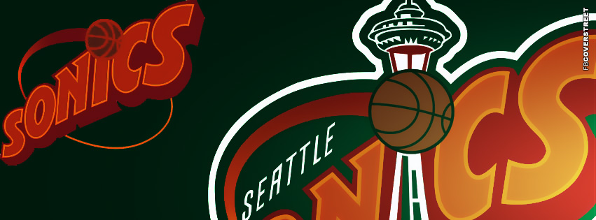 Seattle Supersonics Logo Facebook Cover