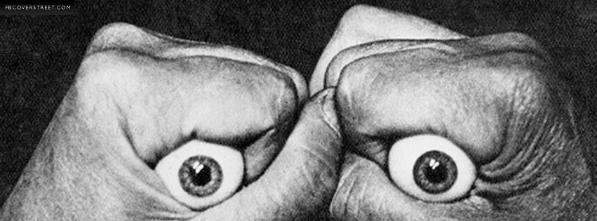 Creepy Eyeballs Facebook Cover