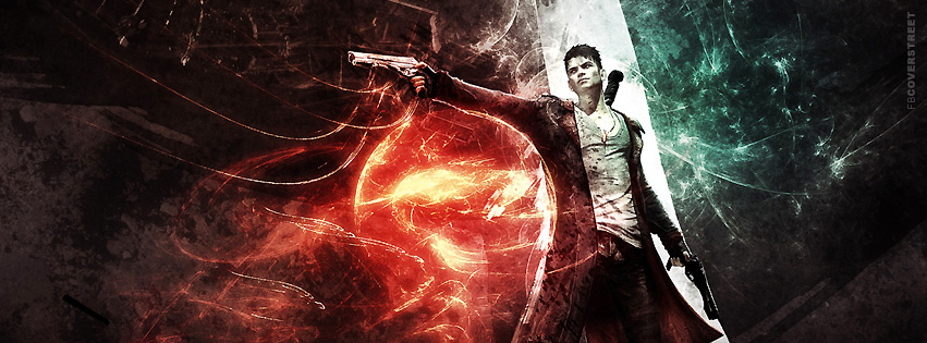 Devil May Cry For Facebook  Facebook cover