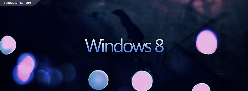 Windows 8 Type Logo 2  Facebook cover
