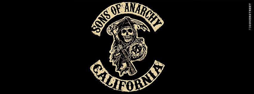 Sons of Anarchy Original Logo Facebook Cover