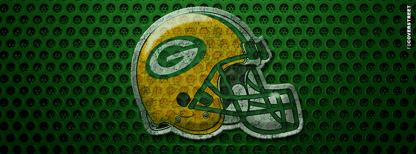 Green Bay Packers Helmet Facebook Cover