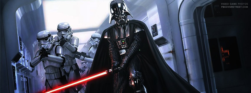 Star Wars Lord Vader Facebook Cover