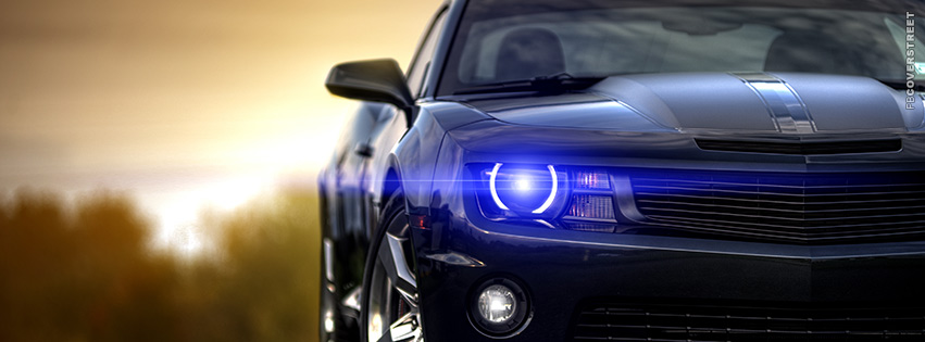 LED Lit Chevrolet Camaro  Facebook cover