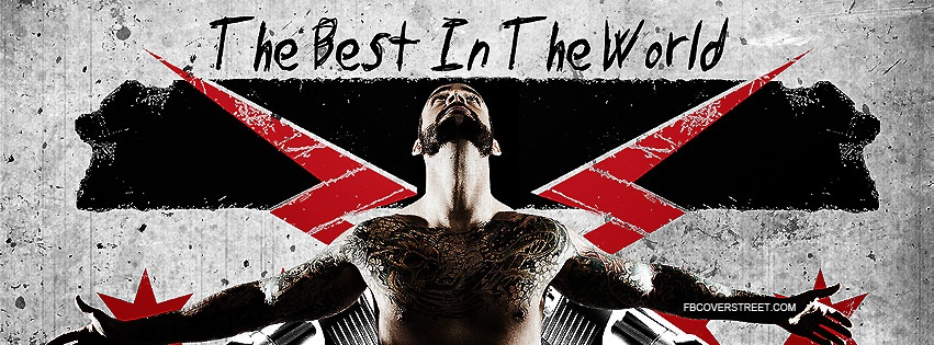 CM Punk Best In The World 3 Facebook Cover