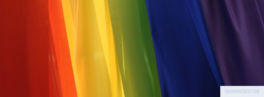 Rainbow Pattern 3 Facebook Cover