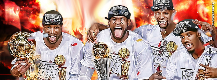 Miami Heat Championship  Facebook cover