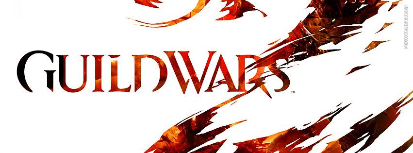 Guild Wars 2 Logo  Facebook cover