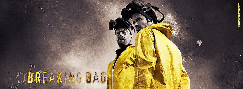 Jesse and Walter Breaking Bad Photograph Facebook Cover