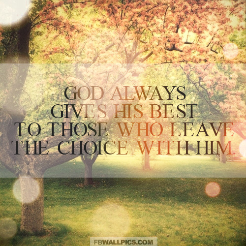 God Always Gives His Best Jim Elliot Quote Facebook picture