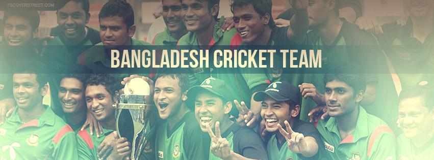 Bangladesh Cricket Team Facebook cover