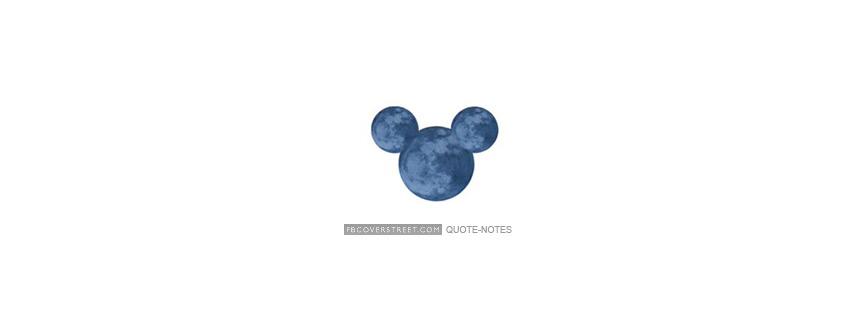 Disney Mickey Mouse Logo Facebook Cover