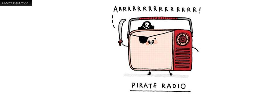 Pirate Radio  Facebook cover